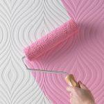 5 проверенных советов чтобы выбрать краску по типу обоев под окрашивание
