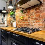 5 почти бесплатных способов сделать фартук на кухне