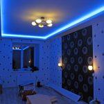 Как украсить потолки светодиодной подсветкой самостоятельно
