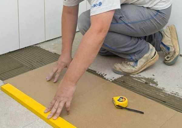 Как применить цементный раствор вместо плиточного клея