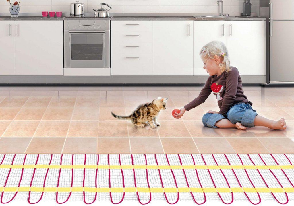 Стоит ли укладывать теплый пол на кухне