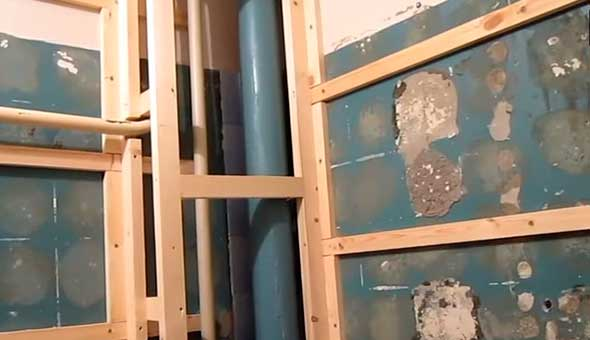 Как быстро смонтировать пластиковые панели в ванной