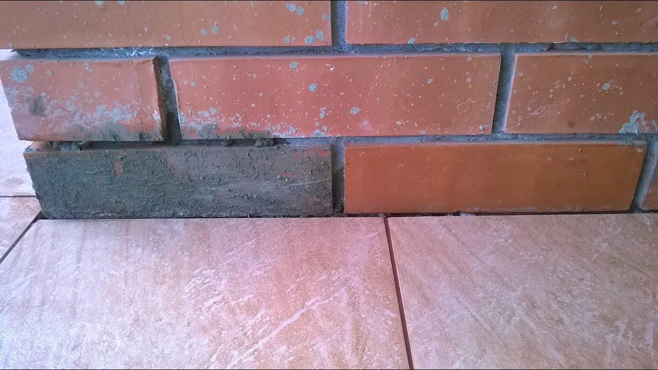 Как цементным раствором кирпичную стену затереть формы для газонной решетки из бетона купить