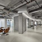 Офис в стиле индастриал