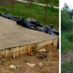 Как залить бетон в хозпостройке прямо на грунт