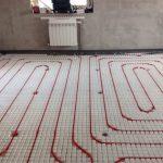 На каком этапе ремонта делают теплые полы