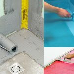 Как легко гидроизолировать пол и стыки стен в ванной