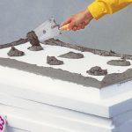 Как надежно закрепить плиточный утеплитель