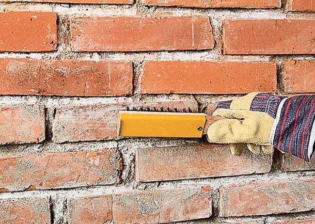 Как цементным раствором кирпичную стену затереть бетон топки