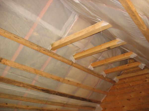 Как утеплить крышу дома, не снимая кровли