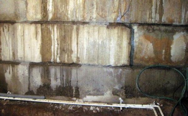 Позеленевший бетон расслоения бетона причины