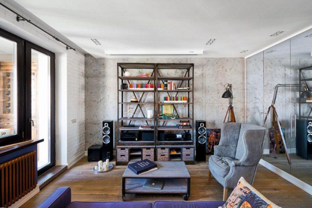Стена квартиры без чистовой отделки: как сэкономить с помощью стиля лофт