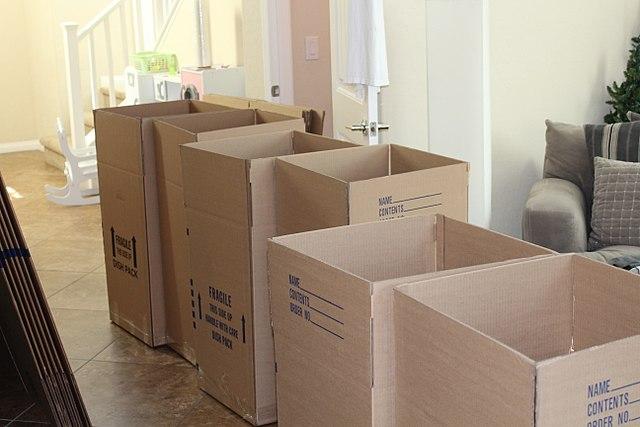 Фанерные ящики для переезда