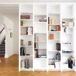 Современные книжные шкафы: какие они