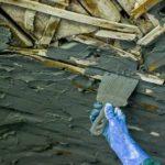Как починить просевший потолок из дранки в старом доме