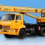 Автокран Галичанин – 25 тонн Вездеход