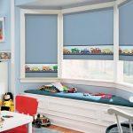 Как выбрать красивые и практичные рулонные шторы в детскую