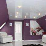Какие натяжные потолки меньше всего «съедают» высоту комнаты