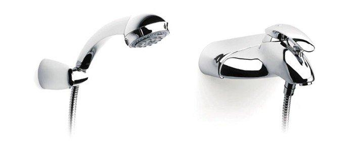 Самые популярные виды смесителей для ванной комнаты