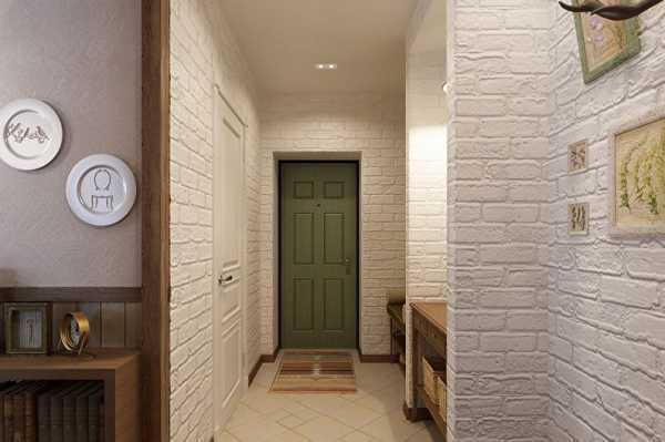 5 идей как отделать стену кирпичной кладкой без применения кирпича