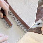 Как вывести в один уровень плитку и ламинат разной толщины