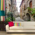 10 вариантов креативно оформить стены в гостиной