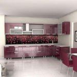 Какие кухонные фартуки экономные и самые стильные