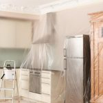 Как сделать, чтобы мебель осталась чистой при высокопыльных работах