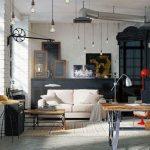 Частые ошибки при оформлении обычной квартиры в стиле лофт