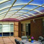 Как бюджетно сделать прозрачную крышу на террасе