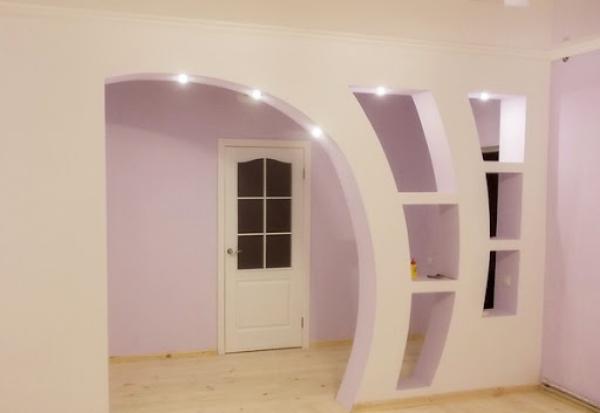 В каких случаях можно отказаться от межкомнатной двери, заменив ее аркой