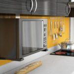 3 ошибки, совершаемые при размещении микроволновки в кухне