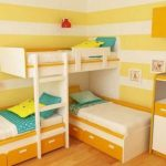 5 секретов обсустройства удобной детской для троих детей