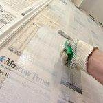 Зачем в СССР при поклейке обоев использовали газеты в качестве подложки