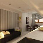 5 способов зрительно поднять потолок