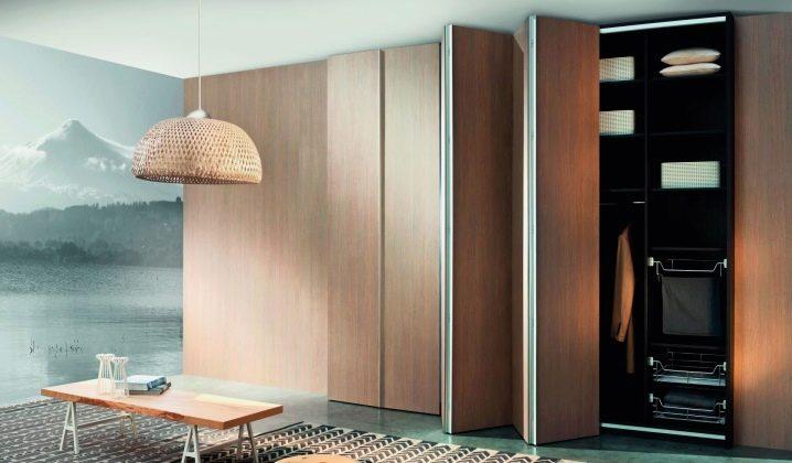 Что такое шкафы-гармошка, особенности эксплуатации