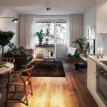 Обустройство кухни в квартире-студии: оптимальное соседство уюта, удобства и безопасности