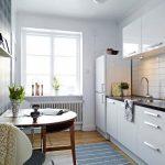 10 хитростей, которые позволят сделать небольшую кухню более просторной