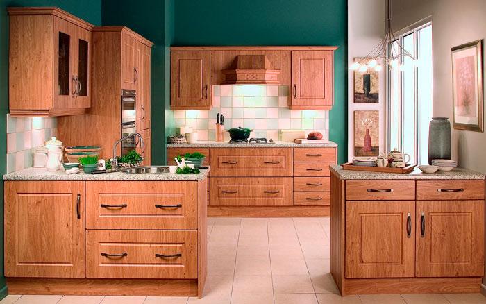 Особенности выбора деревянной кухни