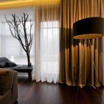 Плотные шторы, способны сделать жилье теплее или нет