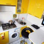 Какая площадь кухни м2 окажется крайне неудобной и тесной