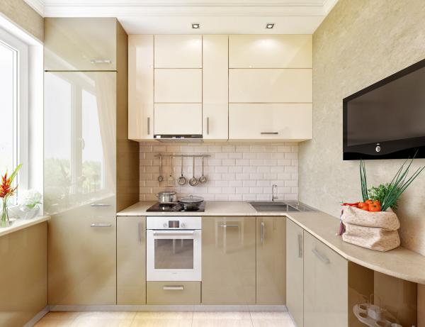 Как грамотно организовать пространство на кухне 6 кв м