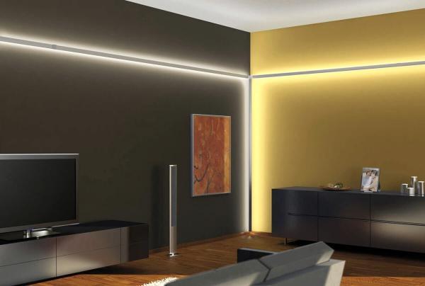 Как красиво освежить ремонт с помощью светодиодной подсветки