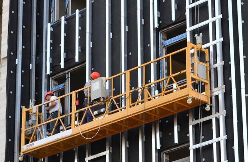 Преимущества и особенности строительных люлек