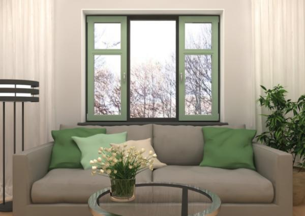 Как поменять белый цвет окна на другой