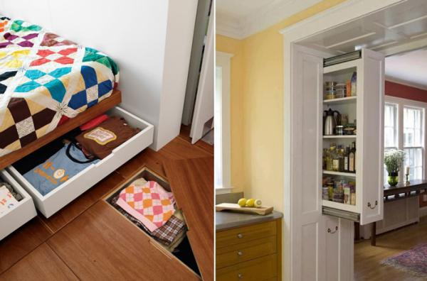 Как разместить огромные вещи в маленькое жилье