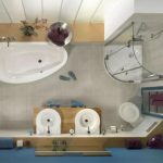 Какой оптимальный размер м2 ванной комнаты и туалета