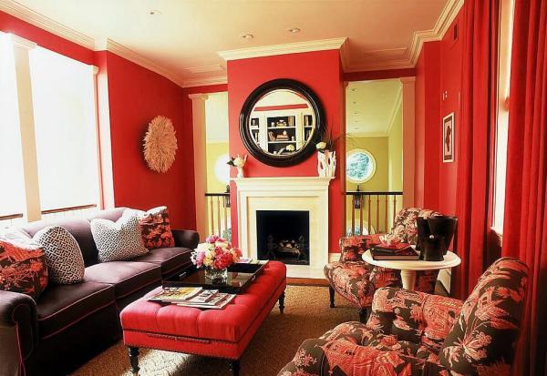 Какие яркие цвета в интерьере всегда остаются в моде