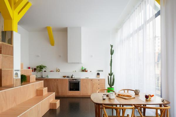Почему квартира без стен завоевала популярность