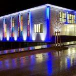 Фасадная подсветка: виды, предназначение, применяемые светильники